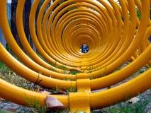 Kleurrijk Fietsenrek Royalty-vrije Stock Foto's