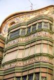 Kleurrijk flatgebouw Royalty-vrije Stock Foto's