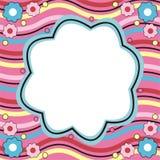 Kleurrijk frame Stock Afbeelding