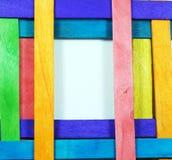 Kleurrijk frame Royalty-vrije Stock Afbeeldingen