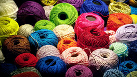 Kleurrijk Garen Royalty-vrije Stock Afbeelding