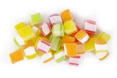 Kleurrijk geïsoleerd geleisuikergoed Stock Afbeelding
