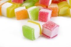Kleurrijk geleisuikergoed Stock Fotografie