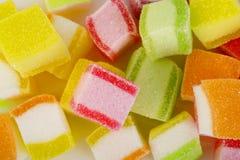 Kleurrijk geleisuikergoed Stock Foto