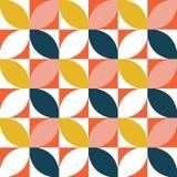 Kleurrijk geometrisch naadloos patroon Midden van de eeuwstijl vector illustratie