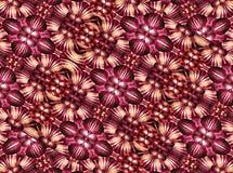 Kleurrijk Geometrisch Ornamentpatroon Royalty-vrije Stock Foto's