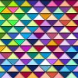 Kleurrijk geometrisch patroon royalty-vrije illustratie