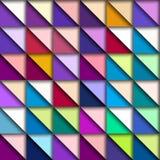 Kleurrijk geometrisch patroon vector illustratie