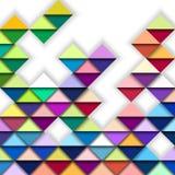 Kleurrijk geometrisch patroon stock illustratie