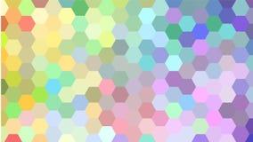 Kleurrijk Geometrisch patroon Stock Foto's