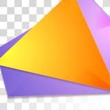 Kleurrijk glanzend de vliegerontwerp van technologie Stock Afbeelding