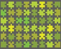Kleurrijk glanzend raadsel stock illustratie