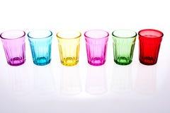 Kleurrijk Glas Stock Afbeelding
