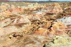 Kleurrijk Gobi Royalty-vrije Stock Foto