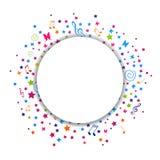 Kleurrijk grafisch ontwerp Royalty-vrije Stock Fotografie
