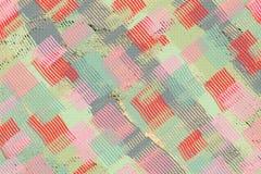 Kleurrijk groen, rood, roze en grijs abstract behang, banner, Royalty-vrije Stock Foto