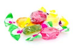 Kleurrijk Hard Suikergoed Stock Foto's