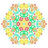 Kleurrijk Hexagon Ornament Royalty-vrije Stock Afbeelding