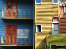 Kleurrijk huis Stock Foto's