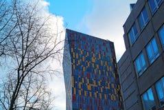 Kleurrijk huis in Moskou Royalty-vrije Stock Afbeeldingen
