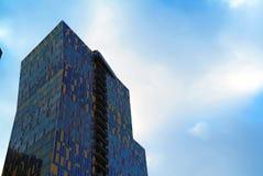 Kleurrijk huis in Moskou Stock Foto