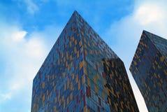 Kleurrijk huis in Moskou Stock Afbeelding