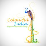 Kleurrijk India vector illustratie