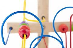 Kleurrijk jonge geitjesstuk speelgoed stock foto's