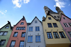 Kleurrijk Keulen 5 Royalty-vrije Stock Fotografie