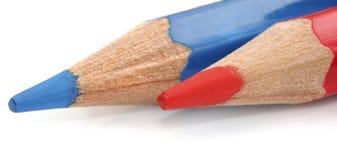 Kleurrijk kleurenpotlood Royalty-vrije Stock Foto