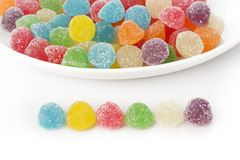 kleurrijk Kleverig suikergoed Stock Fotografie