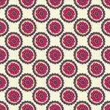 Kleurrijk krabbel naadloos patroon Abstracte bloemachtergrond Hand getrokken behang Royalty-vrije Stock Afbeelding