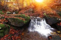 Kleurrijk landschap in de bergen, de reis van Europa, schoonheidswereld Stock Foto's