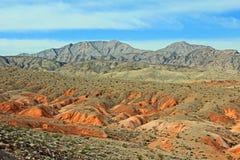 Kleurrijk landschap van Nevada Royalty-vrije Stock Afbeelding