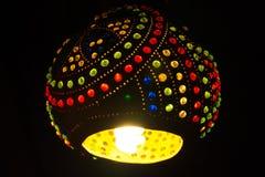 Kleurrijk licht in Arabische stijl Royalty-vrije Stock Foto's