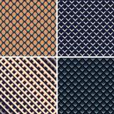 Kleurrijk licht en schaduw geometrische textuur Stock Afbeelding