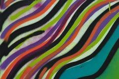 Kleurrijk lijnenpatroon Stock Afbeeldingen