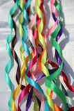 Kleurrijk Lint Stock Foto's