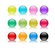 Kleurrijk marmer Stock Foto's