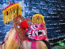 Kleurrijk masker royalty-vrije stock afbeeldingen