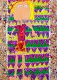 Kleurrijk meisje Royalty-vrije Stock Afbeelding