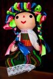 Kleurrijk Mexicaans Doll royalty-vrije stock afbeelding