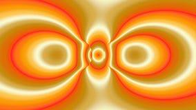 Kleurrijk modern abstract fractal art. Heldere illustratie als achtergrond met een chaotisch patroon Stock Illustratie