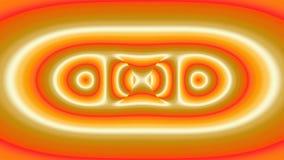 Kleurrijk modern abstract fractal art. Heldere illustratie als achtergrond met een chaotisch patroon Vector Illustratie