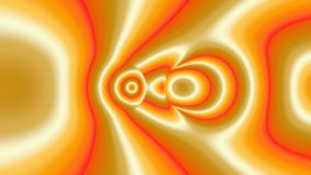 Kleurrijk modern abstract fractal art. Heldere illustratie als achtergrond met een chaotisch patroon Royalty-vrije Illustratie