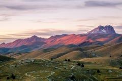 Kleurrijk Monte Prena Stock Afbeelding