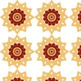 Kleurrijk mozaïek abstract Naadloos patroon Stock Afbeeldingen