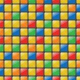 Kleurrijk mozaïek naadloos vectorpatroon Royalty-vrije Stock Afbeeldingen