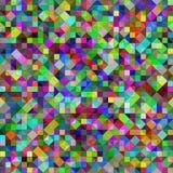 Kleurrijk mozaïekpatroon stock illustratie