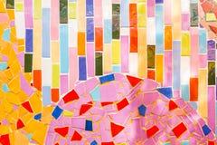 Kleurrijk mozaïek Stock Foto's